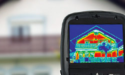 Infrared Thermal Testing for Home Inspection