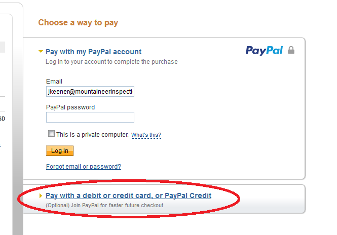 How to pay with a debit card with Paypal
